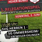 1. Relegationsspiel