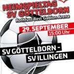Heimspieltag 29. September